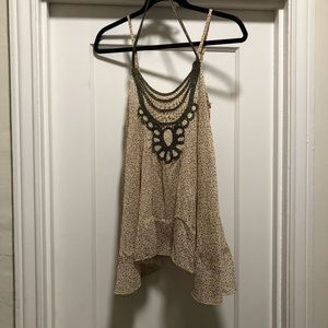 Willow & Clay floral tank top